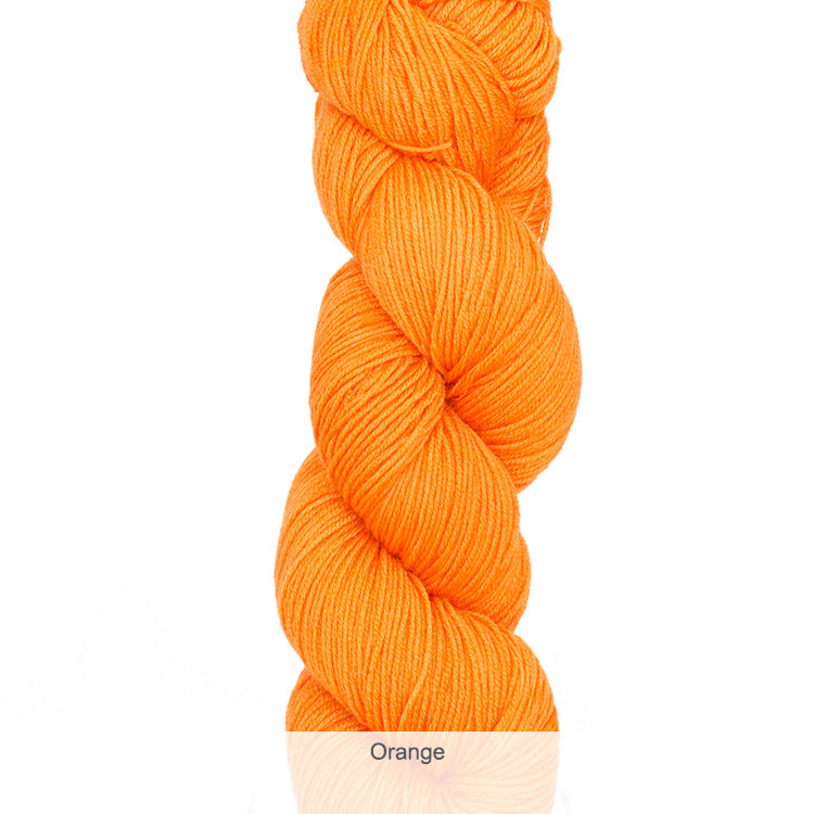 Urth Yarn's Harvest Fingering 100% Extrafine, Superwash Merino Yarn - Orange