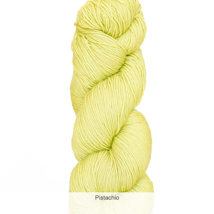 Urth Yarn's Harvest Fingering 100% Extrafine, Superwash Merino Yarn - Pistachio