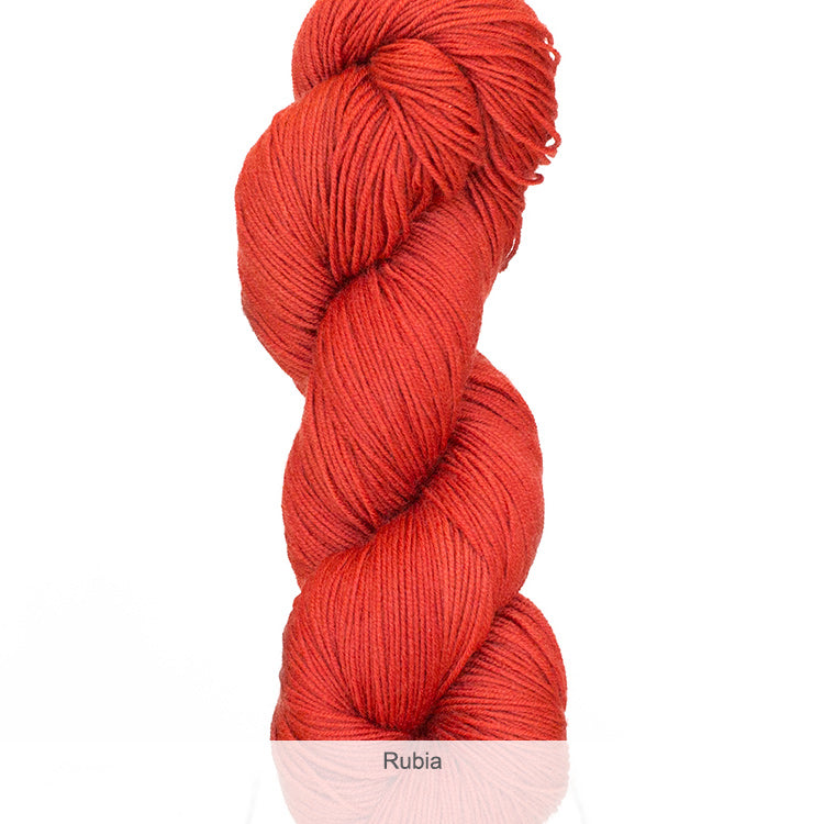 Urth Yarn's Harvest Fingering 100% Extrafine, Superwash Merino Yarn - Rubia