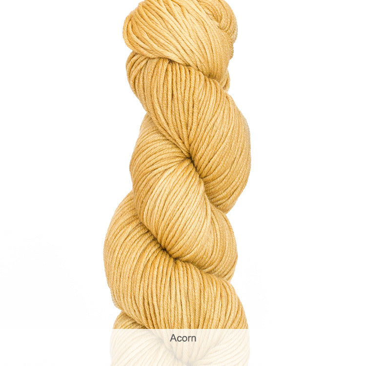 Urth Yarn's Harvest Worsted 100% Extrafine, Superwash Merino Yarn - Acorn