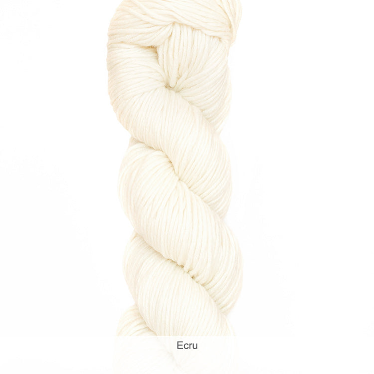 Urth Yarn's Harvest Worsted 100% Extrafine, Superwash Merino Yarn - Ecru