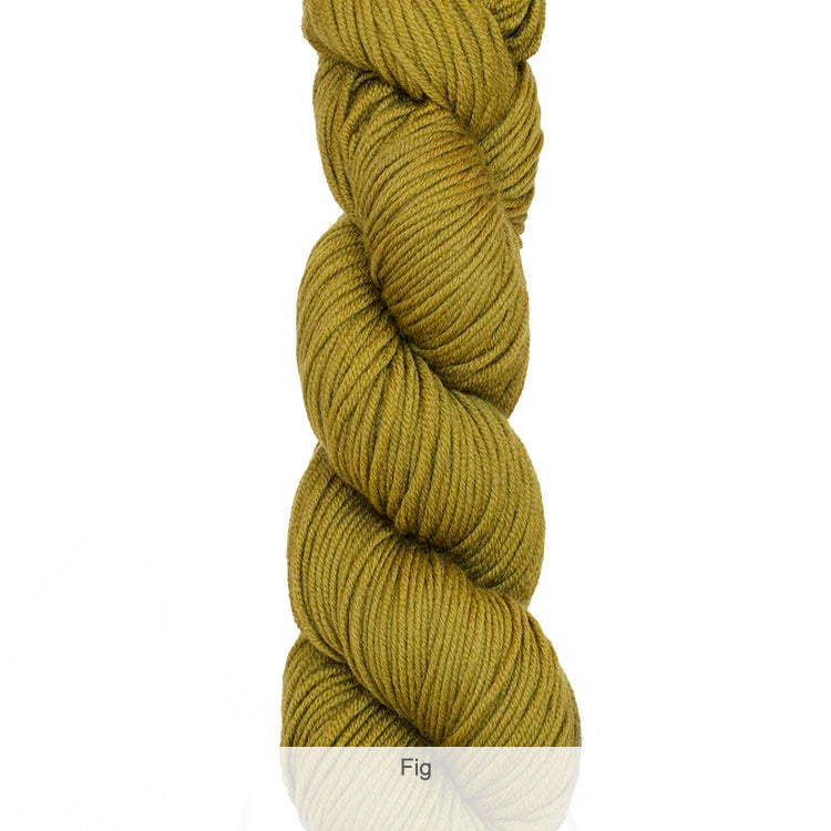 Urth Yarn's Harvest Worsted 100% Extrafine, Superwash Merino Yarn - Fig