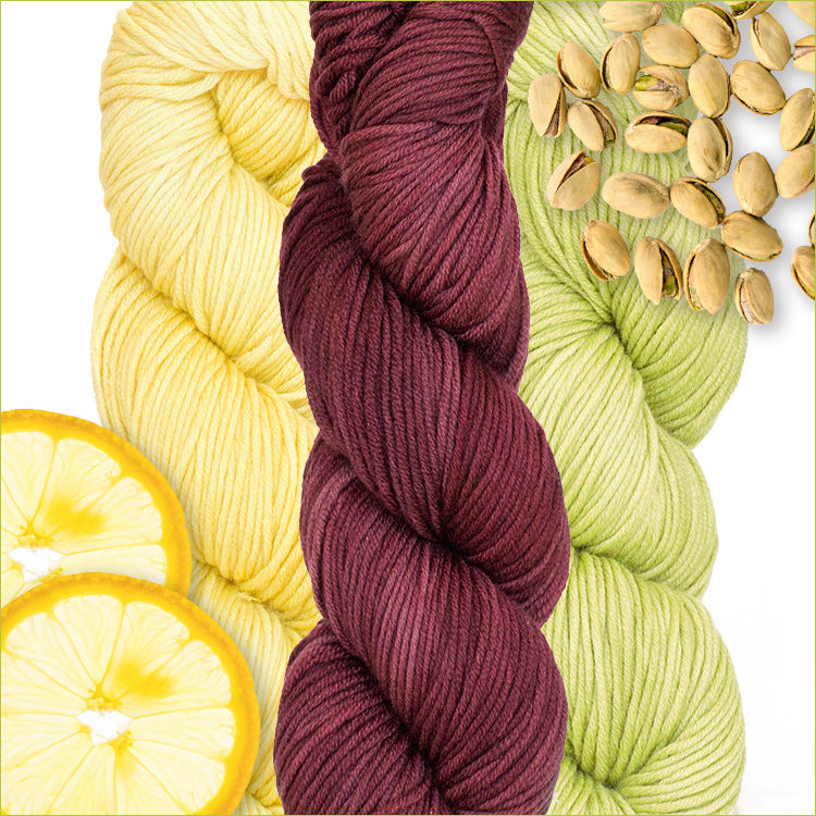 Urth Yarn's Harvest Worsted 100% Extrafine, Superwash Merino Yarn