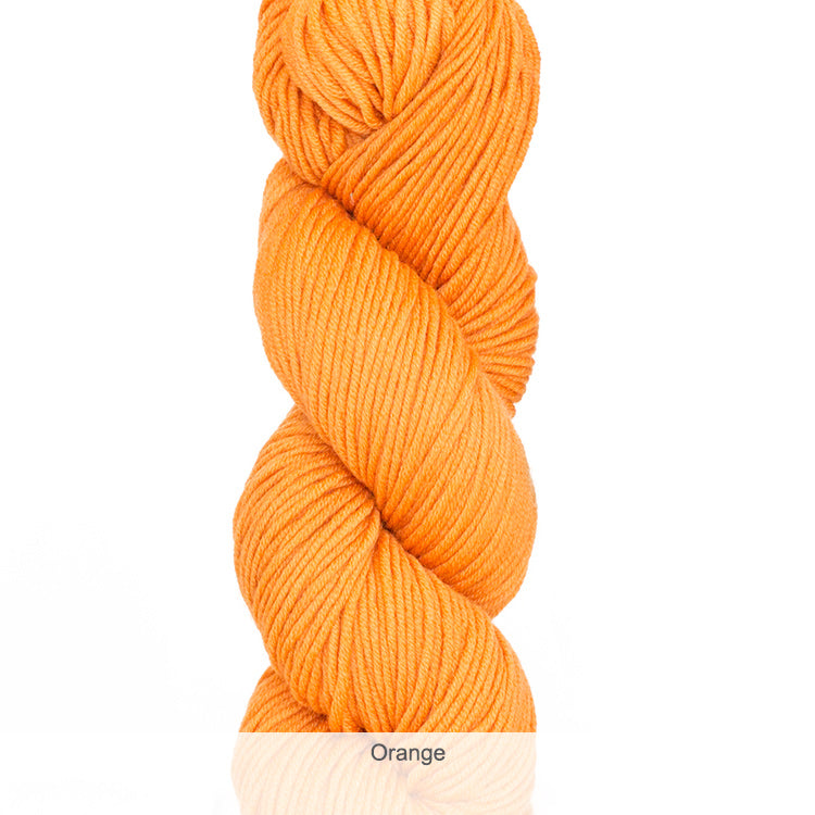 Urth Yarn's Harvest Worsted 100% Extrafine, Superwash Merino Yarn - Orange