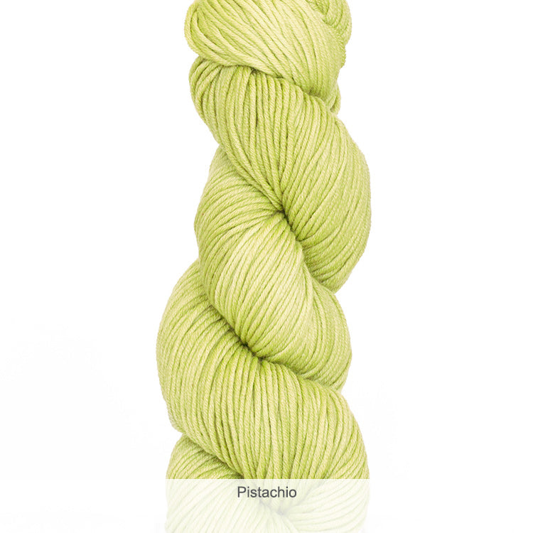 Urth Yarn's Harvest Worsted 100% Extrafine, Superwash Merino Yarn - Pistachio