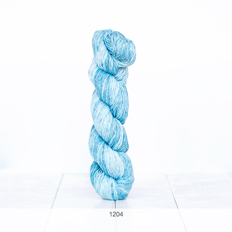 One skein of Urth Yarns' Monokrom Cotton DK in color #1204