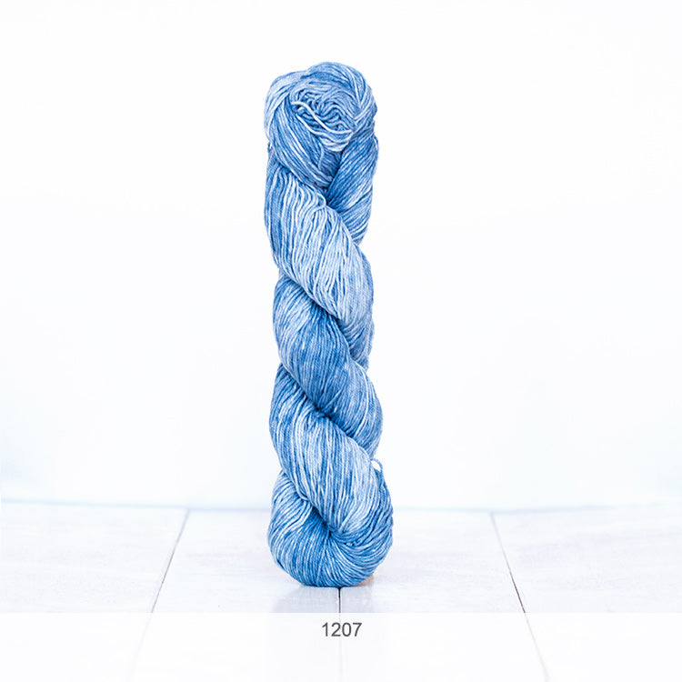 One skein of Urth Yarns' Monokrom Cotton DK in color #1207