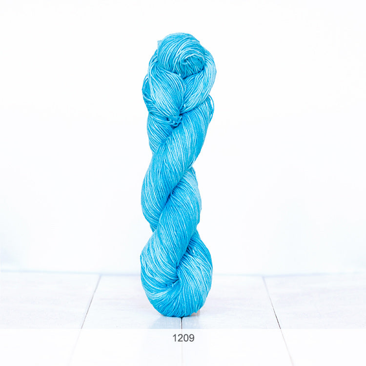One skein of Urth Yarns' Monokrom Cotton DK in color #1209