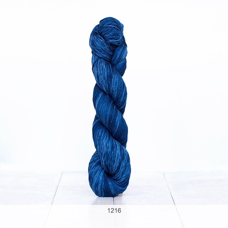 One skein of Urth Yarns' Monokrom Cotton DK in color #1216
