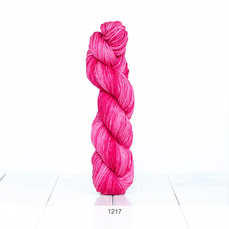 One skein of Urth Yarns' Monokrom Cotton DK in color #1217