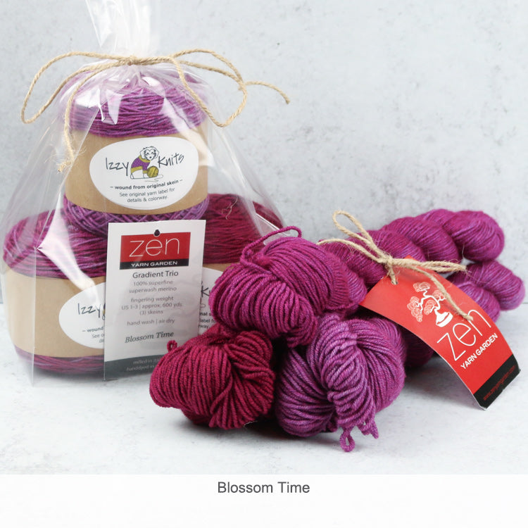 Merino Gradient Trios from Zen Yarn Garden - Blossom Time