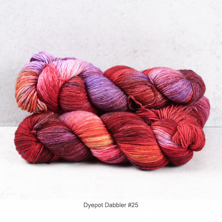 Zen Yarn Garden Superfine Fingering - Dyepot Dabbler Series - 25