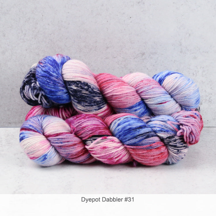 Zen Yarn Garden Superfine Fingering - Dyepot Dabbler Series - 31
