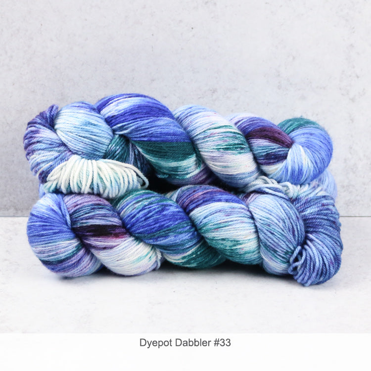 Zen Yarn Garden Superfine Fingering - Dyepot Dabbler Series - 33
