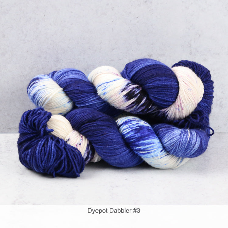 Zen Yarn Garden Superfine Fingering - Dyepot Dabbler Series - 3