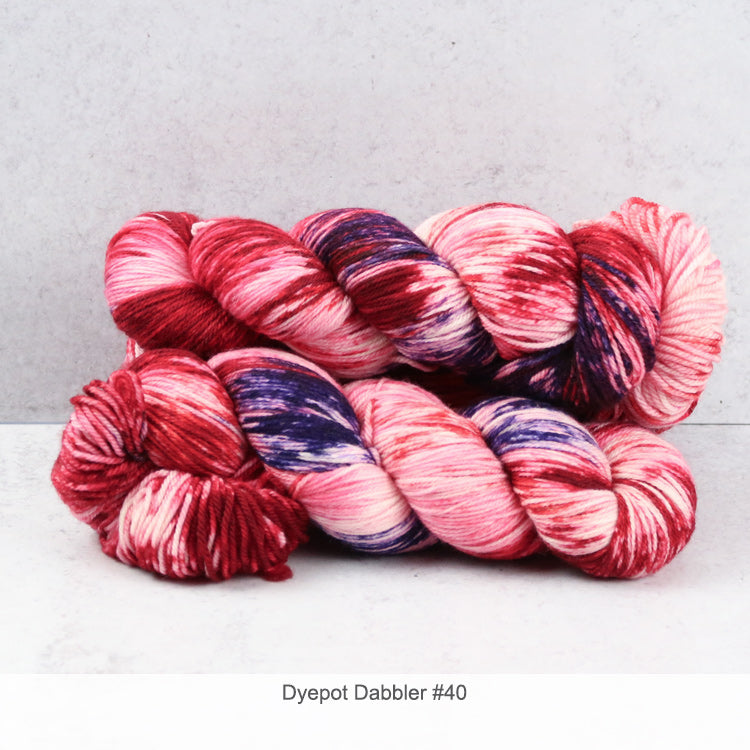 Zen Yarn Garden Superfine Fingering - Dyepot Dabbler Series - 40