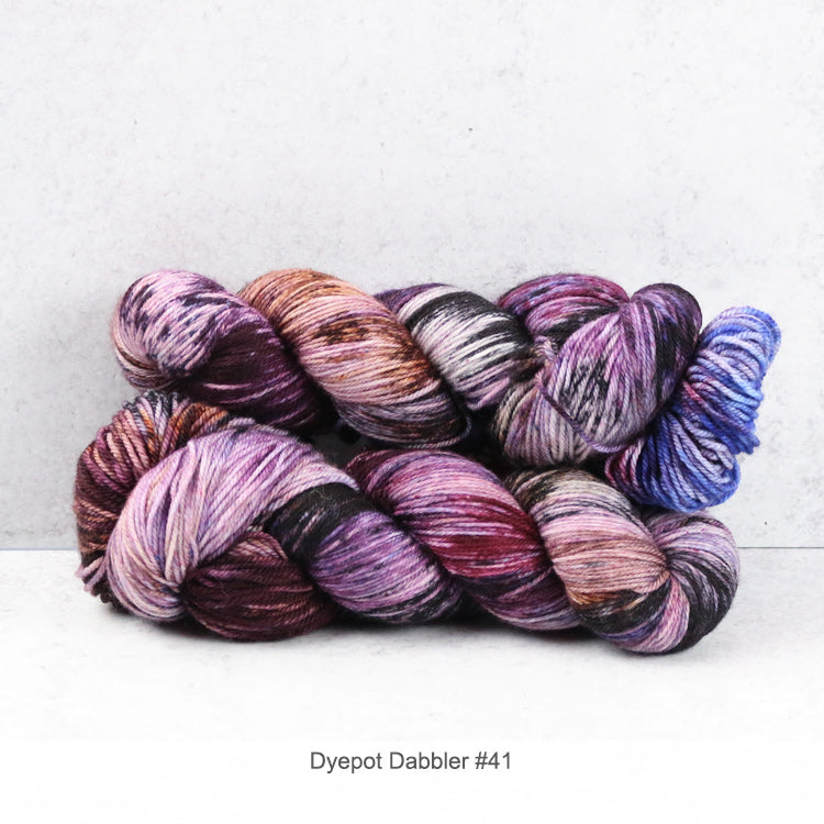 Superfine Fingering - Dyepot Dabbler Series