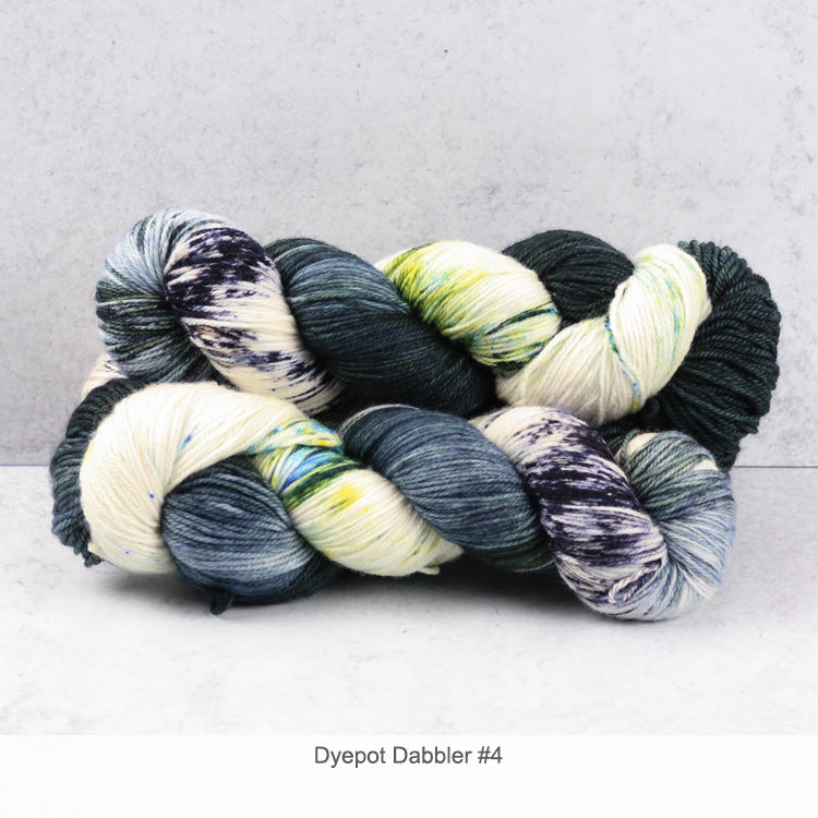 Zen Yarn Garden Superfine Fingering - Dyepot Dabbler Series - 4