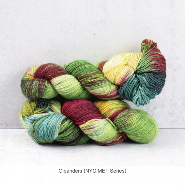 Zen Yarn Garden Superfine Fingering Yarn - Oleanders