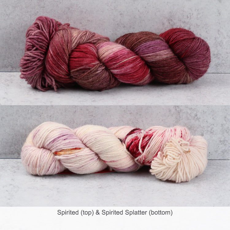 Zen Yarn Garden Superfine Fingering Yarn - Spirited