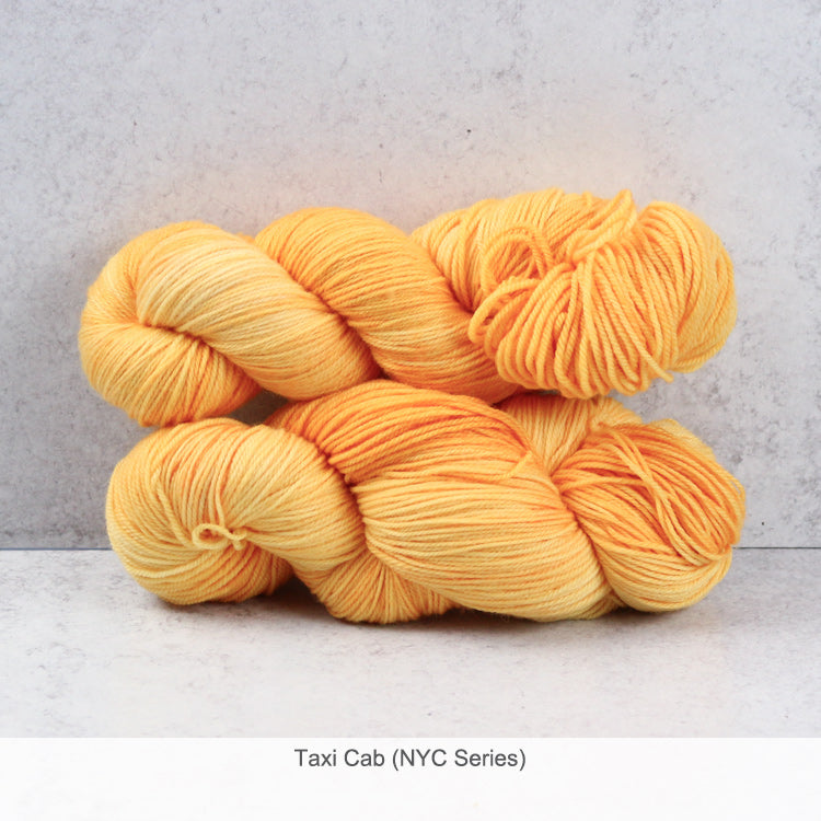 Zen Yarn Garden Superfine Fingering Yarn - Taxi Cab