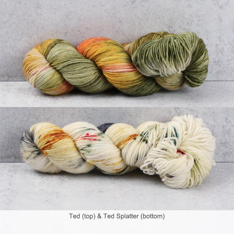 Zen Yarn Garden Superfine Fingering Yarn - Ted