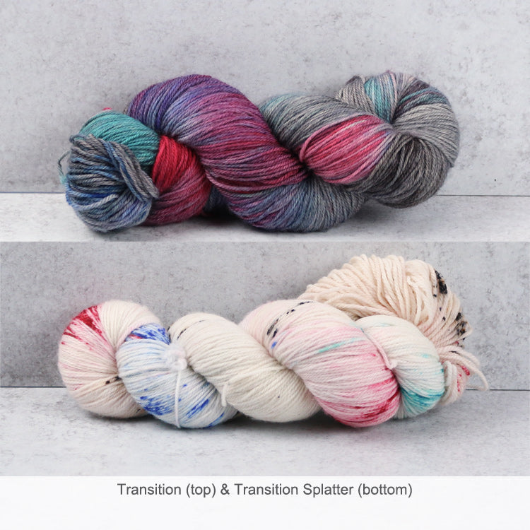 Zen Yarn Garden Superfine Fingering Yarn - Transition