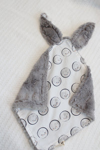 Bunny Lovey - Moons, Stone Faux Fur
