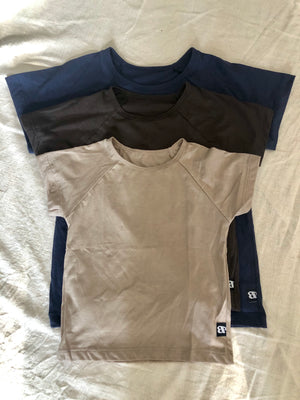 Raglan Cotton T-Shirt