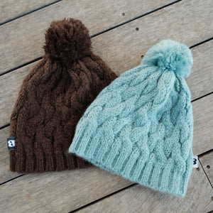 Tallow Cable Knit Hat