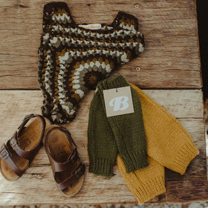 Rosemary Knitted Legwarmers