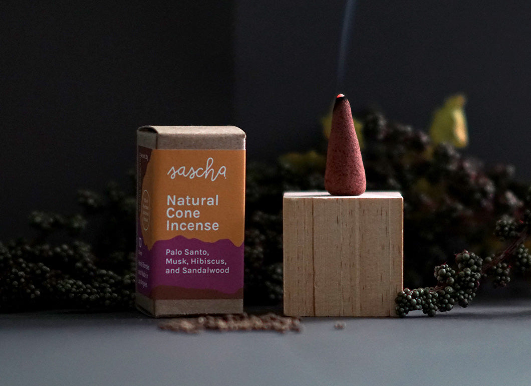 Palo Santo, Musk, Hibiscus and Sandalwood Incense Cones