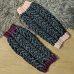 Chunky Wool Cable Dog Sweater