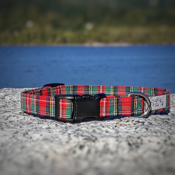 Plaid Cat Collar