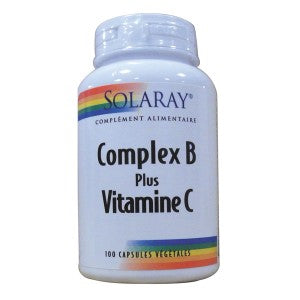 Complex B plus Vitamine C Solaray