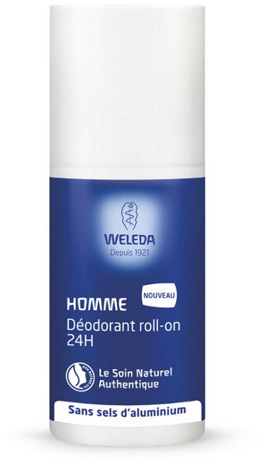 Déodorant roll-on 24h Homme Weleda