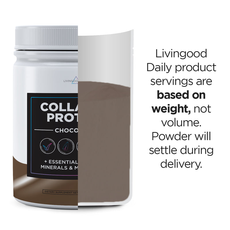 Livingood Daily Collagen Protein - Chocolate