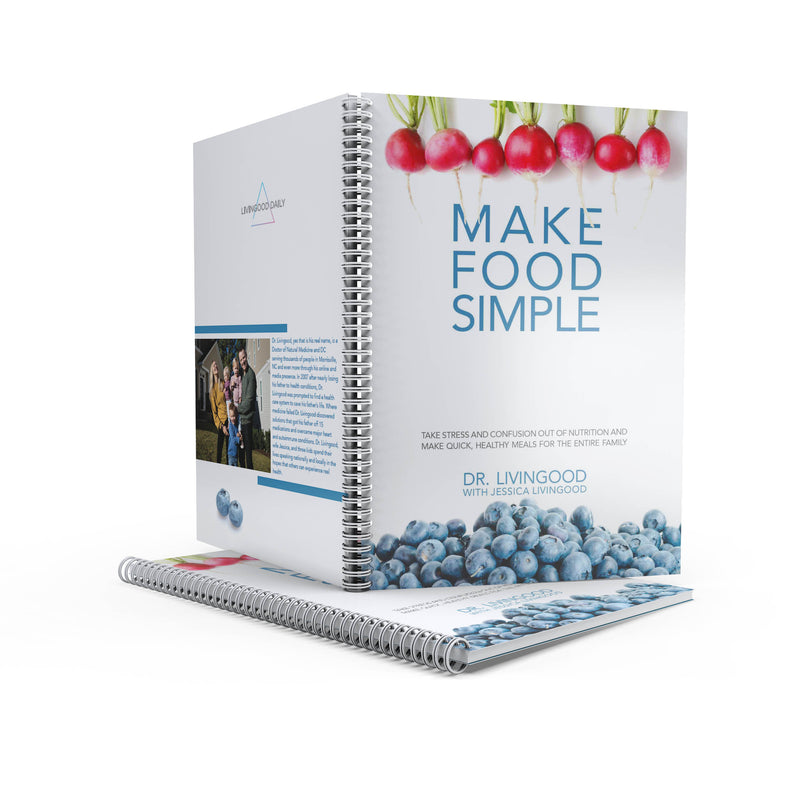 Spiral-Bound Make Food Simple Book