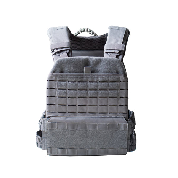 Weighted Vest Ash Grey