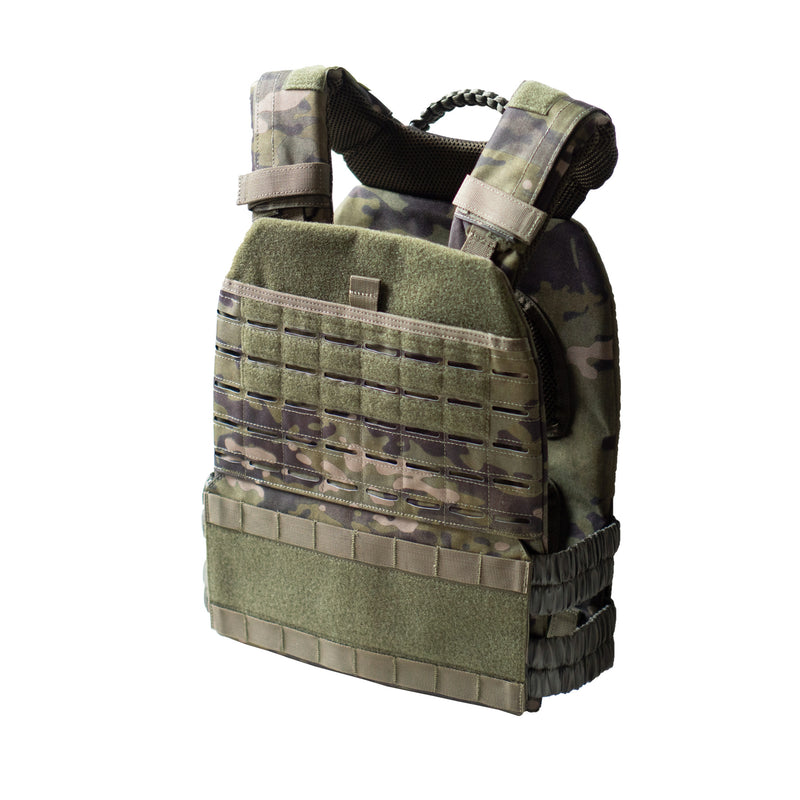 Weighted Vest Camo Jungle