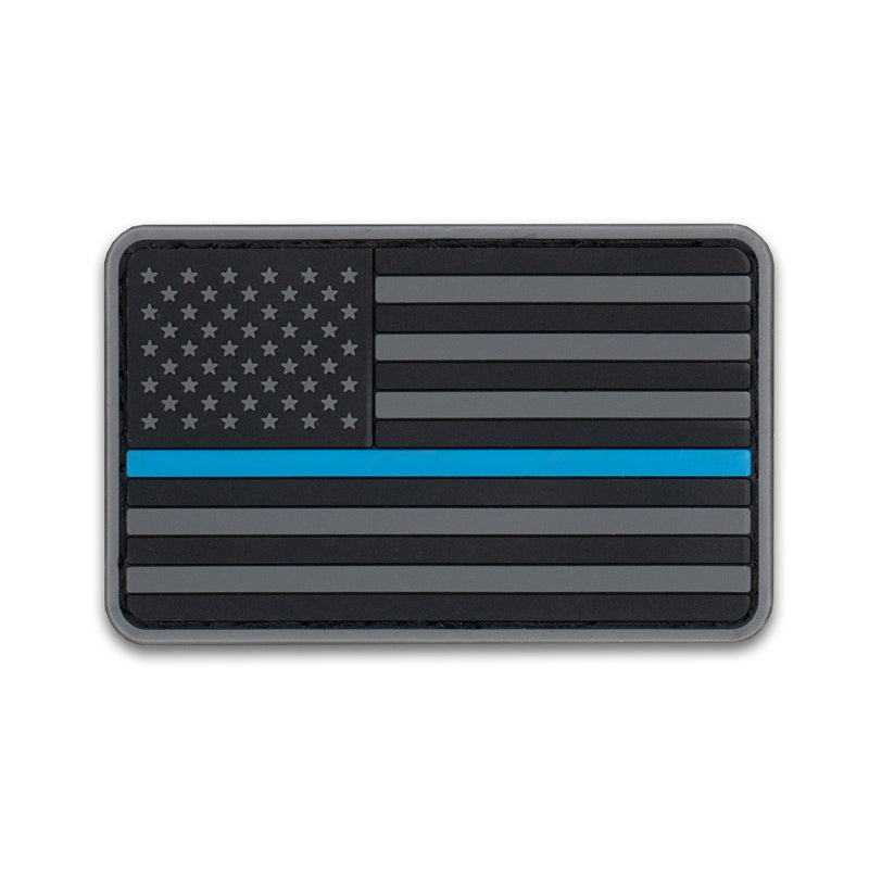 US Flag - BLUELINE-01