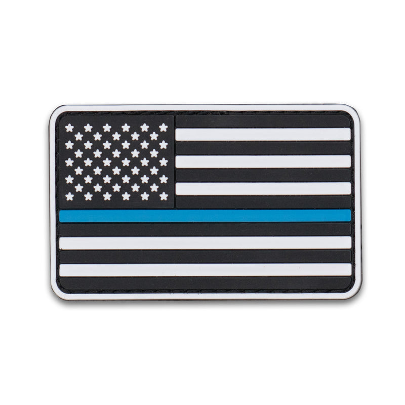 US Flag - BLUELINE-02