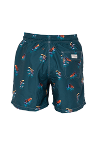 Frog Green Swim Trunks Kids & Babys