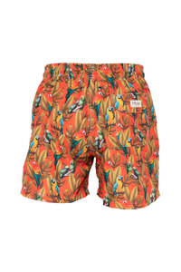 Guacamayas Orange Swim Trunks Kids & Babys