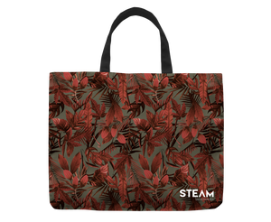 Leaves Gray Bag