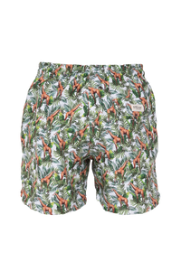 Jiraffe Ivory Swim Trunks