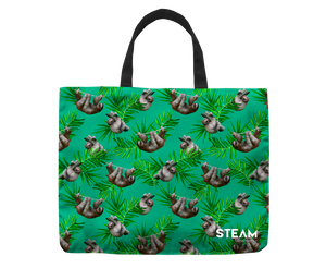 Sloth Green Bag