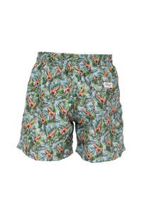 Jiraffe Turquoise Swim Trunks Kids & Babys