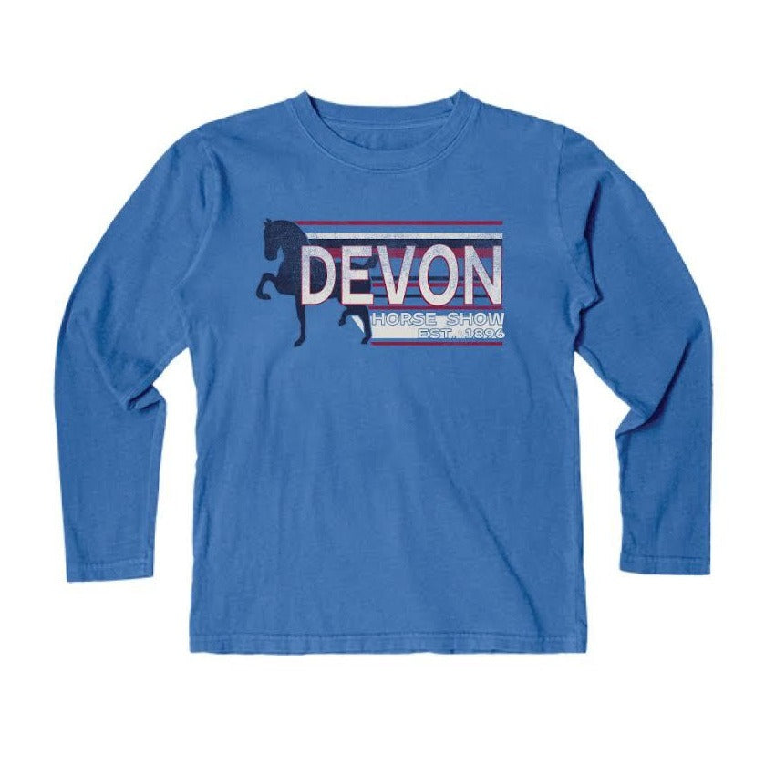Blue 84 Youth Long Sleeve Tee-Blue