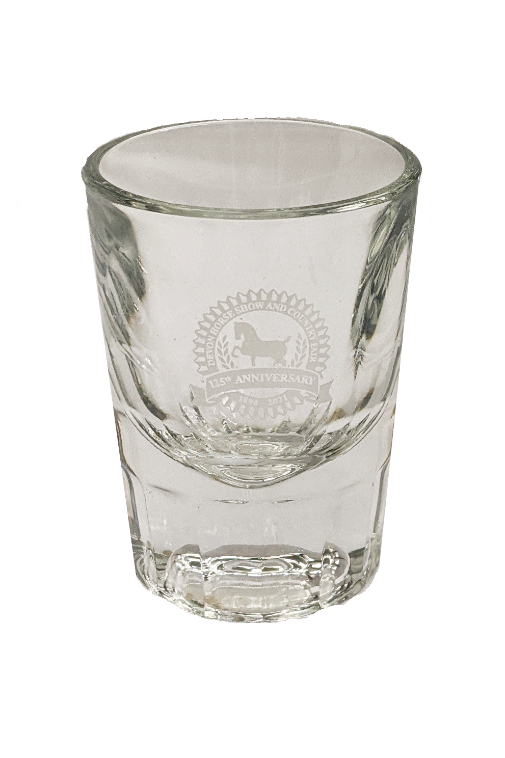 125th Anniversary-Heavy Bottomed Shot Glass